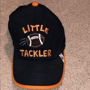 EUC Gymboree navy & orange hat size 4T/5T